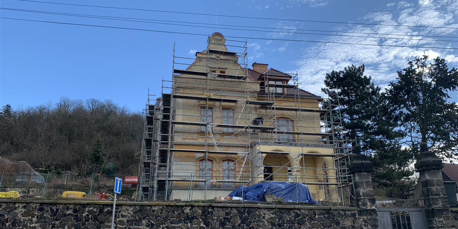 Vorlíček   Okna a dveře - Historická vila Slaný 2020  úzký profil PREMIUM SLIM
