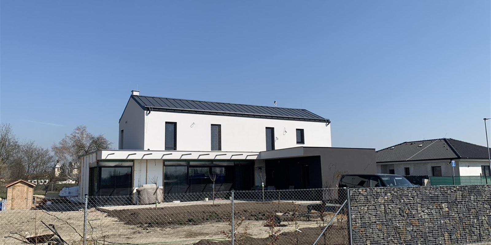Vorlíček   Okna a dveře - Rodinný dům   Kostomlaty nad Labem, 2019